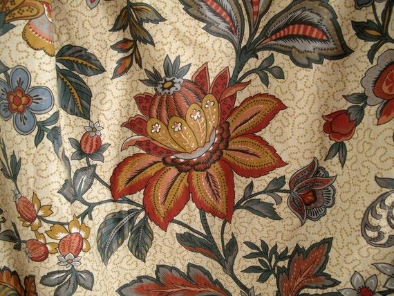 vintage franz sische gardinen vorh nge panel vorh nge. Black Bedroom Furniture Sets. Home Design Ideas