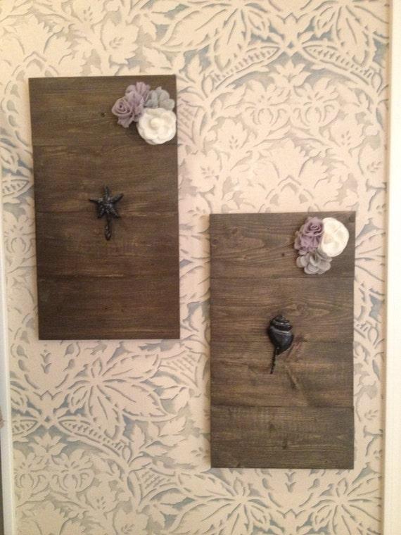 Decorative Bathroom Wall Hooks : Custom towel hooks bathroom wall decor by uniqueboutiquefromaz