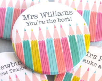 Personalised 'World's Best Teacher' Magnet