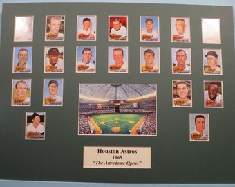 "Honoring the 1965 Houston Astros -  ""The Year the Astrodome Opened"""