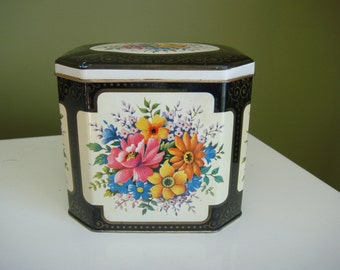 VintageTin Biscuit/Cookie Tin - Storage Canister - Made in England