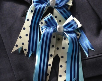Horse Show Hair Bows/classic equestrian clothing/beautiful gift