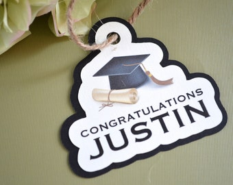 Custom Graduation Gift Tags
