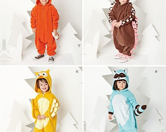 Simplicity Pattern 1351 Toddler's Animal Costumes