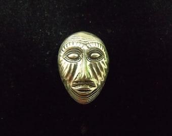 Sterling Silver Mask Pendant - .925 5.3 grams