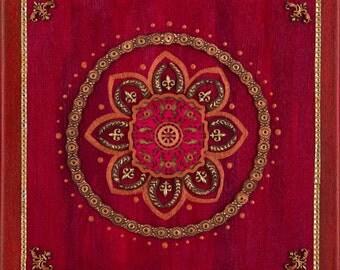 """Red/Root Chakra Fine Art Print: 18""""x18"""""""