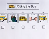 Riding the Bus to School, Sequence Sheet