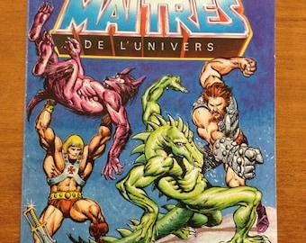 Masks of Power Masters of the Universe mini comic He-Man book 1985 (les maitres de l univers les masques du pouvoir)