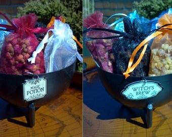 Cauldron, Wicca Cauldron, Iron Cauldron, Black Cauldron, Hanging Incense Burner, Cerridwen, Incense Burner, Spell Cauldron, Wiccan Cauldron
