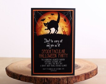 Halloween Party Invitations, Halloween Invitations - look 03