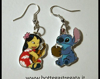 lilo and stitch earrings earrings