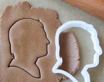 Man silhouette cookie cutter #3