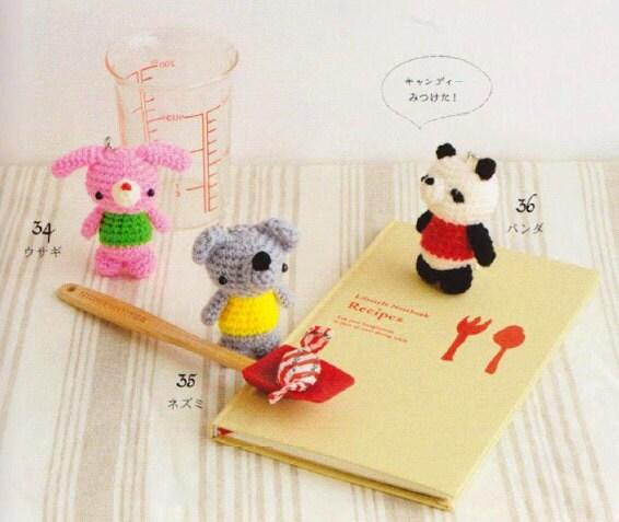 Amigurumi Penguin Cell Phone Strap : Amigurumi Animals Food Cakes Sweets Cell Phone Straps