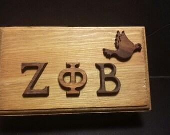 Zeta Phi Beta Wooden Box