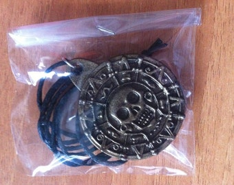 Medallion Necklace PIRATE of the CARIBBEAN 100% resin marvel crafted