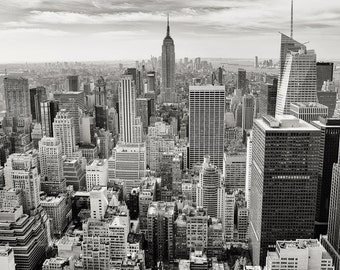 New York City skyline download, high resolution, high quality image, digital immediate download -- item no 30