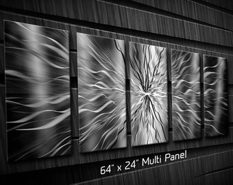 Contemporary Metal Abstract Exterior Art Radiance