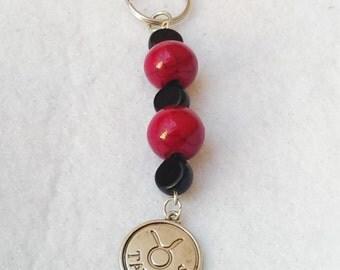 Zodiac Customized Keychain/Purse Charm