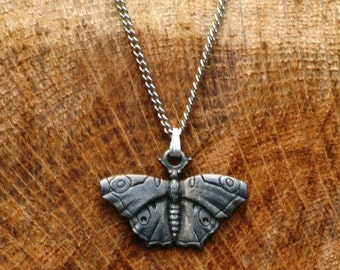 Butterfly Pewter Necklace & Pendant Ladies Jewelry Gift