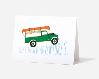 Land Rover Birthday Greeting Card