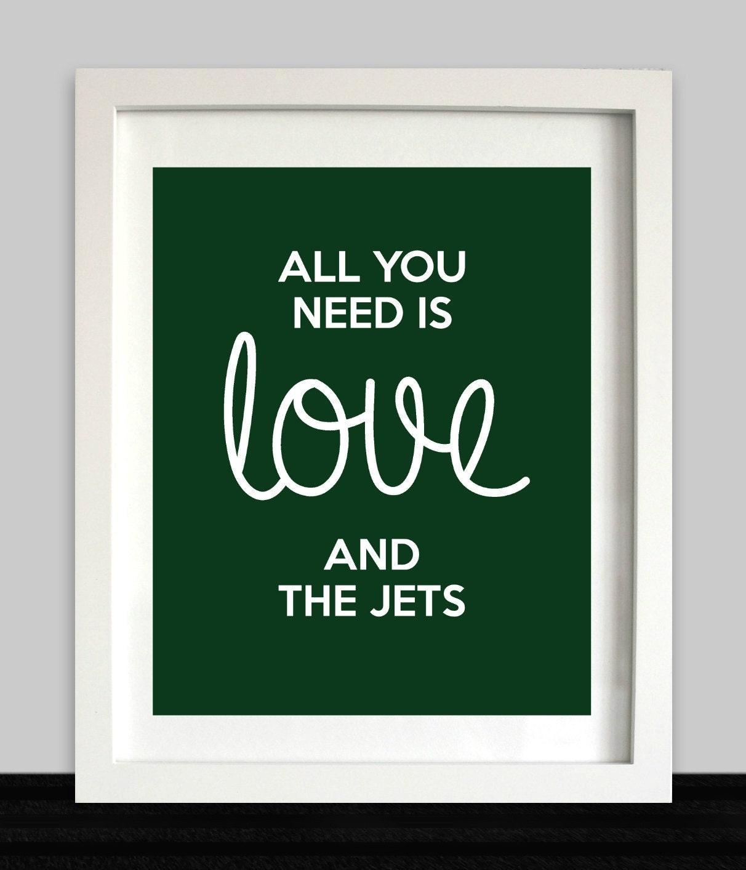 New York Jets Logo Wire Earrings