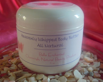 4 Jar Sampler Pack - Heavenly Whipped Body Butter - Homemade, All Natural, Pick your Own Scents