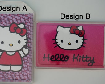 Personalized/customized luggage/bag tag - hello kitty (COMES IN PAIRS; 2 for 12)