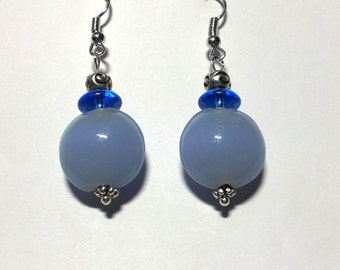"""Earrings """"Light Blue"""""""