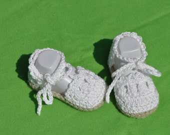 Baby Girl Espadrille Sandals