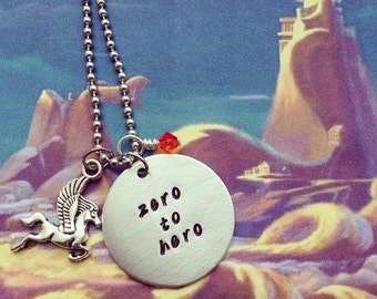 Hercules Inspired Handmade Necklace