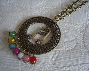 "MUSICAL NECKLACE ""CORCHE"""
