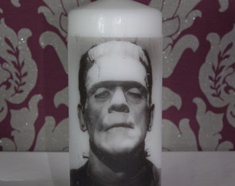 Frankenstein's Monster - Scented Pillar Candle
