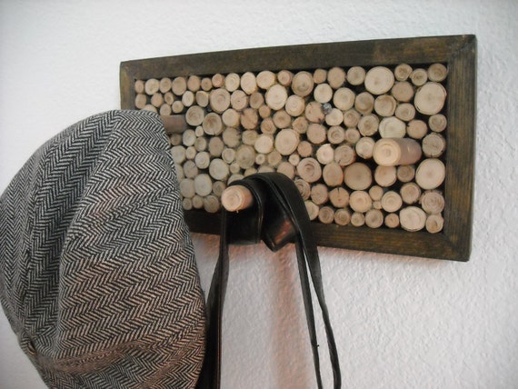 Wall Hung Coat and Hat Rack