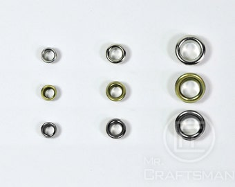 Metal Eyelets Grommets With Washers (30Set)