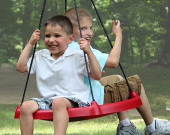 Super FUN!  Tire Swing , Tree Swing. Swingset. Swing & Spin!  :-D Super Spinner Swing is a favorite gift, Kids Love it!! ;-D
