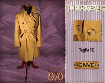 Brand New Conver Raincoat 1970