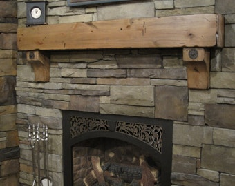 Floating Shelf Fireplace Mantel Crown Molding Traditional