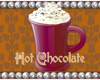 Hot Chocolate anyone? Part of a 4 part series of Warm drinks for winter