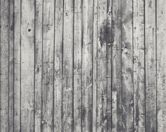 Canvas Distressed White Wood Faux Floor Backdrop 3ft x 4ft Photo Prop #103412