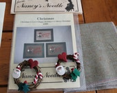 Nancy's Needle Patterns and Button Wreaths
