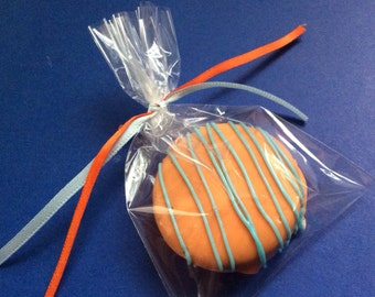 Orange Party Favors Chocolate Oreos Favors Wedding Favors Wedding Party Gifts Peach Favors Apricot Favors Baby Shower Favors Candy Buffet