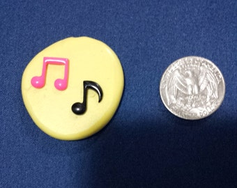Music notes mold