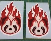 2x Fire Ferrets Decal Avatar: Legend of Korra Sticker