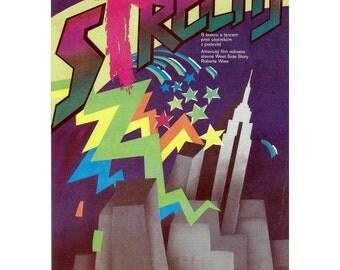 Rooftops original Czech Film Poster