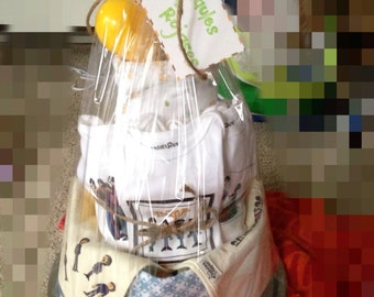 All You Need is Love! Beatles diaper cake