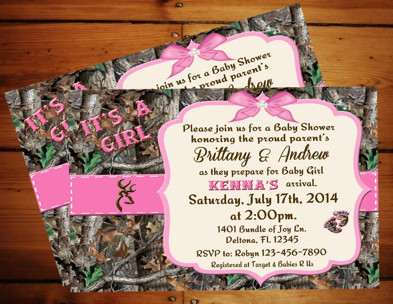 Pink Camo Baby Shower Decorations. pink camo baby shower baby shower ...
