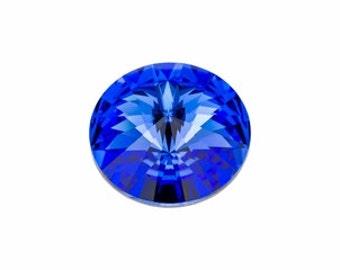 SWAROVSKI 1122 12mm Rivoli - Sapphire