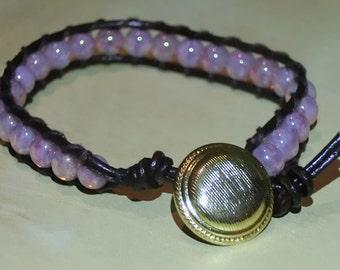 Pink Marble Bracelet