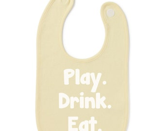 Play Drink Eat Gift Present Baby Shower Birthday