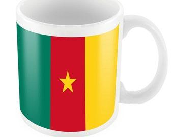 Cameroon Road To World Cup Ceramic Mug Gift Birthday Present Novelty Brasil 2014